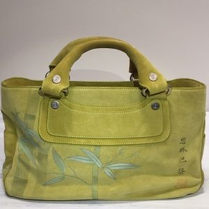 Ultra Rare!! Celine Boogie Suede China Bag 10/300